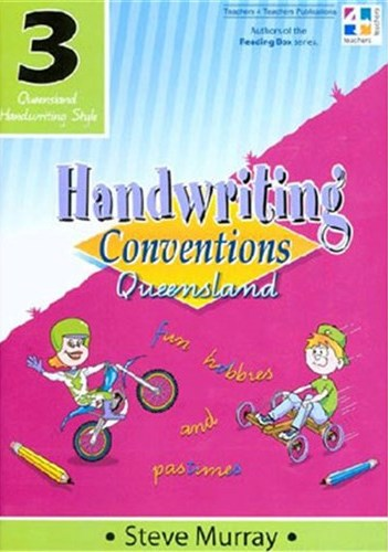 Image for Handwriting Conventions Queensland 3