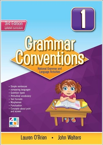 Image for Grammar Conventions 1 [Third Edition]