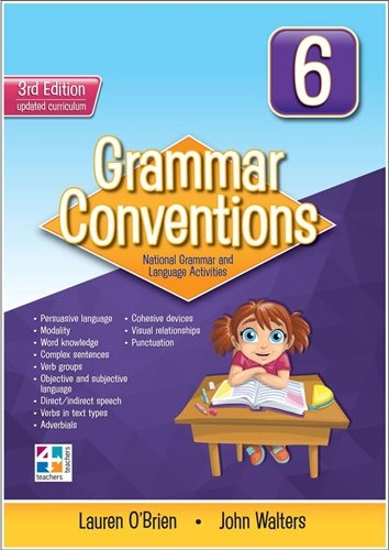 Image for Grammar Conventions 6 [Third Edition]
