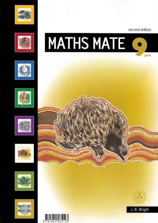 Image for Maths Mate 9 Gold Student Pad [Second Edition]
