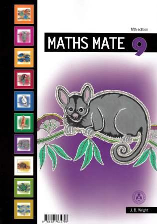 Image for Maths Mate 9 Student Pad [Fifth Edition]