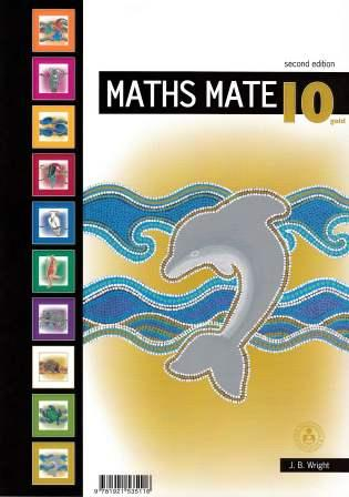 Image for Maths Mate 10 Gold Student Pad [Second Edition]
