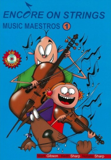 Image for Encore on Strings Music Maestros 1 Bass - CD Included