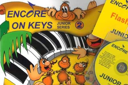 Image for Encore on Keys Junior Series 2 Piano/Keyboard - CD or Audio App and Flash Cards Included