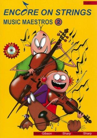 Image for Encore on Strings Music Maestros 2 Violin - CD Included