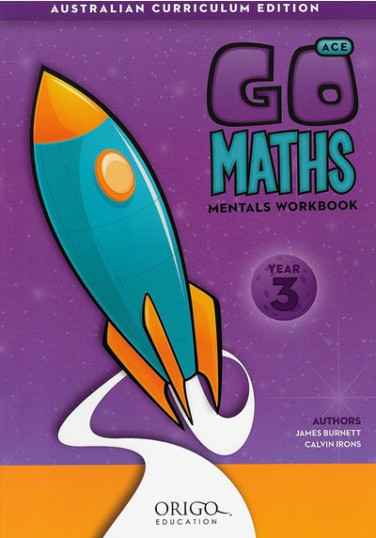 Image for Go Maths Mentals Workbook Year 3 : Australian Curriculum Edition