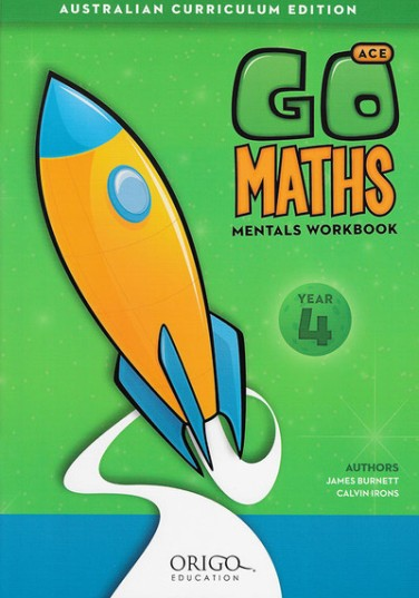 Image for Go Maths Mentals Workbook Year 4 : Australian Curriculum Edition