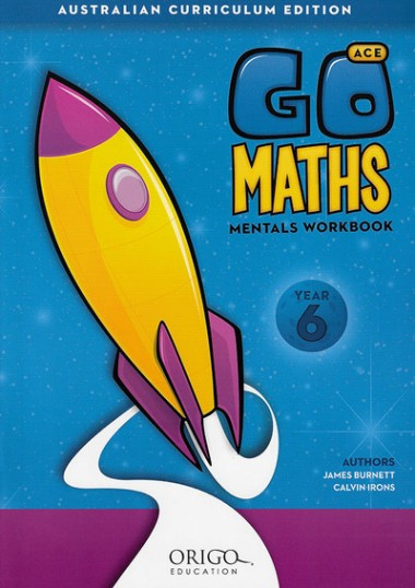 Image for Go Maths Mentals Workbook Year 6 : Australian Curriculum Edition