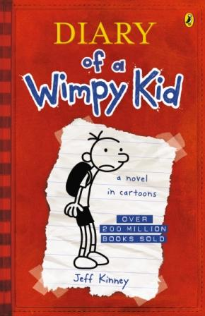 Image for Diary of a Wimpy Kid #1 Diary of a Wimpy Kid [used book]