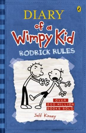 Image for Rodrick Rules #2 Diary of a Wimpy Kid [used book]
