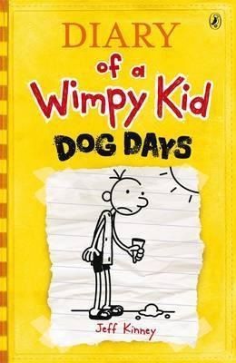 Image for Dog Days #4 Diary of a Wimpy Kid [used book]
