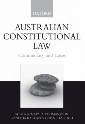 Image for Australian Constitutional Law : Commentary and Cases [used book]