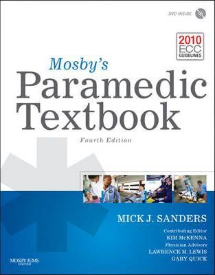 Image for Mosby's Paramedic Textbook [used book]