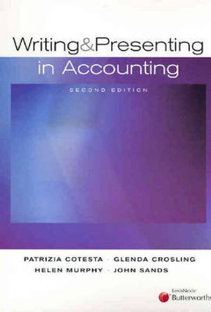 Image for Writing and Presenting in Accounting [Second Edition] [used book]