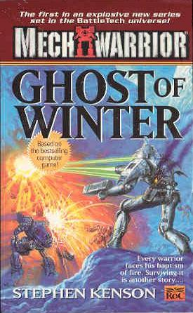 Image for Ghost of Winter #1 BattleTech Mech Warrior [used book] [hard to get]