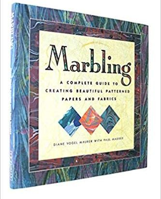 Image for Marbling : A Complete Guide to Creating Beautiful Patterned Papers and Fabrics [used book][hard to get]