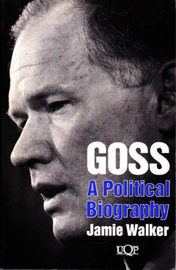Image for Goss : A Political Biography [used book][hard to get]