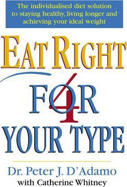 Image for Eat Right 4 Your Type [used book]