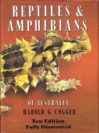 Image for Reptiles and Amphibians of Australia Fifth Edition [used book][rare]