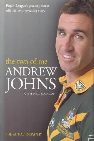 Image for The Two of Me : Andrew Johns The Autobiography [used book]