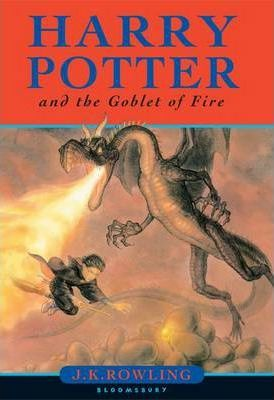 Image for Harry Potter and the Goblet of Fire #4 Harry Potter [used book]