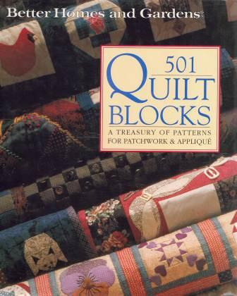 Image for 501 Quilt Blocks : A treasury of paterns for Patchwork and Applique [used book]