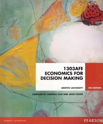 Image for 1303AFE Economics for Decision Making [Fifth Edition][used book]