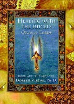 Image for Healing with the Angels Oracle Cards : A 44-Card Deck With Guidebook [used]