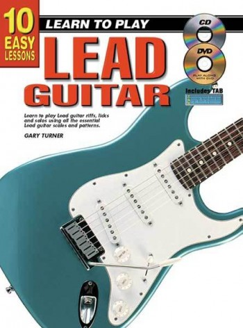 Image for 10 Easy Lessons Learn To Play Lead Guitar Book/CD/DVD