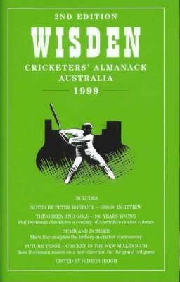 Image for Wisden Cricketers' Almanack Australia 1999 [used book][hard to get]