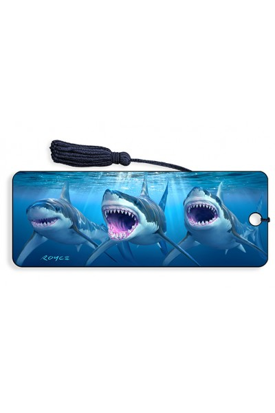 Image for Great White Sharks 3D Bookmark