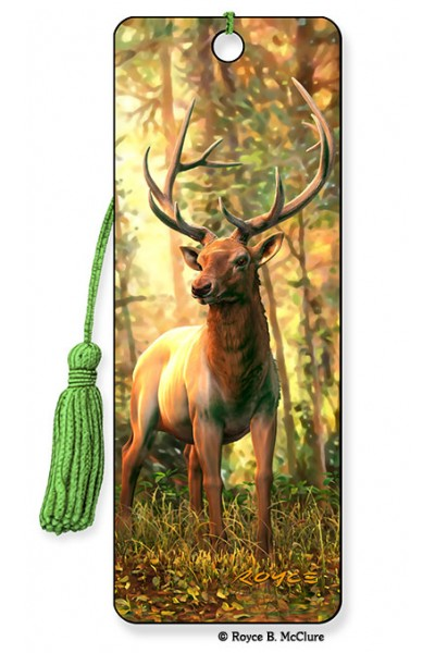 Image for Elk 3D Bookmark