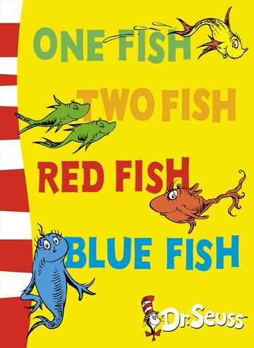 Image for One Fish Two Fish Red Fish Blue Fish [Blue Back Book Edition]