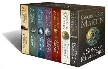 Image for A Game of Thrones : The Complete Box Set of All 7 Books with Map and Classic Artwork