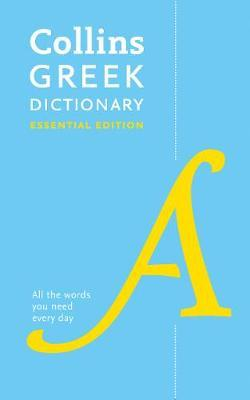 Image for Collins Greek Dictionary Essential Edition