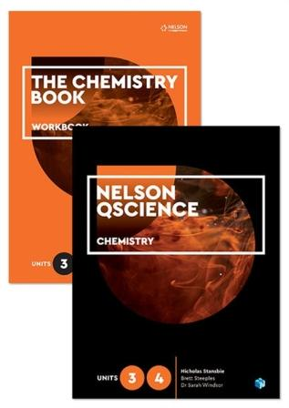 Image for Nelson QScience Chemistry Student Pack Units 3 & 4