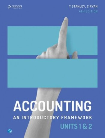 Image for Accounting : An Introductory Framework Units 1 & 2 (Student Book with 4 Access Codes)