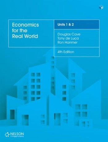 Image for Economics for the Real World Units 1 & 2 (4e) Student Book with 4 Access Codes