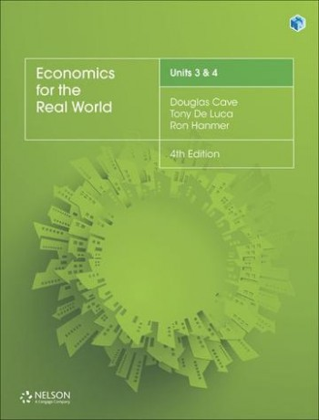 Image for Economics for the Real World Units 3 & 4 (4e) Student Book with 1 Access Code for 26 Months
