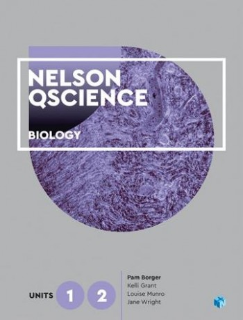 Image for Nelson QScience Biology Units 1 & 2 (Student Book with 4 Access Codes)