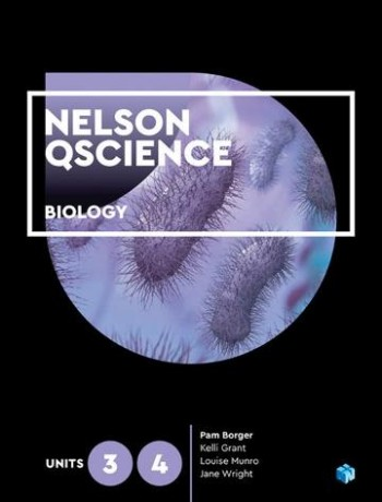 Image for Nelson QScience Biology Units 3 & 4 (Student Book with 4 Access Codes)