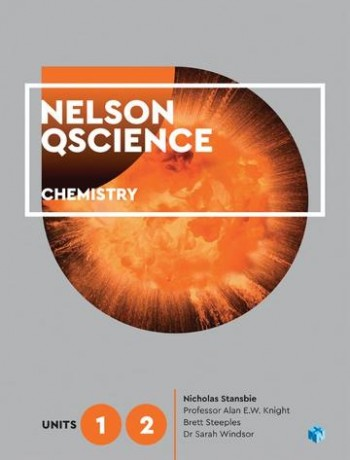 Image for Nelson QScience Chemistry Units 1 & 2 (Student Book with 4 Access Codes)