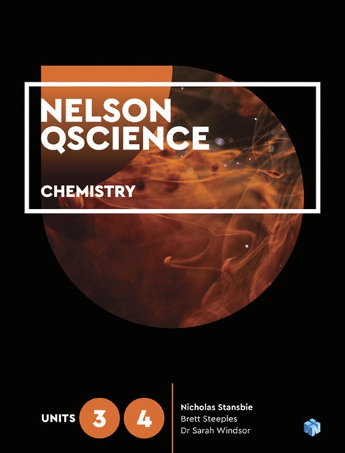 Image for Nelson QScience Chemistry Units 3 & 4 Student Book with 1 Access Code