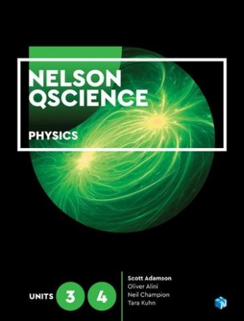 Image for Nelson QScience Physics 3 & 4 (Student book with 4 Access Codes)