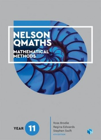 Image for Nelson QMaths 11 Mathematical Methods Student Book with 4 Access Codes [Fourth Edition]