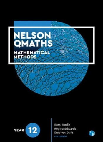 Image for Nelson QMaths 12 Mathematical Methods Student Book with 4 Access Codes [Fourth Edition]
