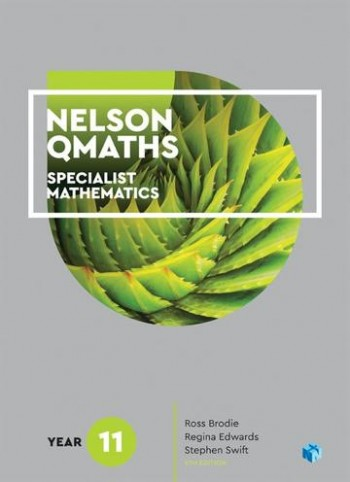 Image for Nelson QMaths 11 Specialist Mathematics Student Book with 4 Access Codes [Fourth Edition]