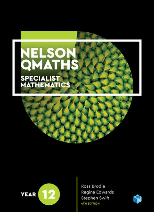 Image for Nelson QMaths 12 Specialist Mathematics Student Book 1 Access Code for 26 Months [Fourth Edition]