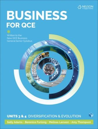 Image for Business for QCE : Units 3 & 4: Diversification and Evolution Student Book with 1 Access Code for 26 Months