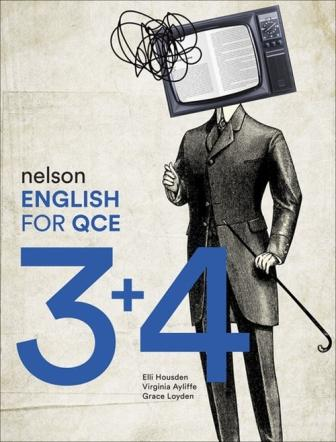 Image for Nelson English for QCE Units 3 & 4 Student Book with 1 Access Code